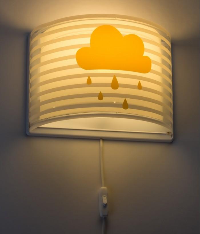 Children wall lamp Light Feeling gray