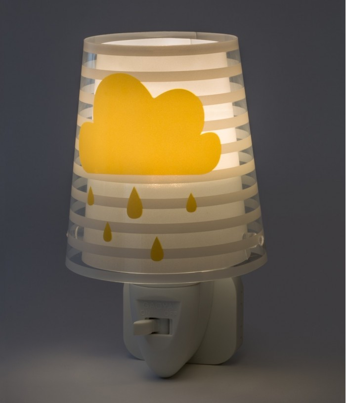 Veilleuse LED pour enfants Light Feeling gris
