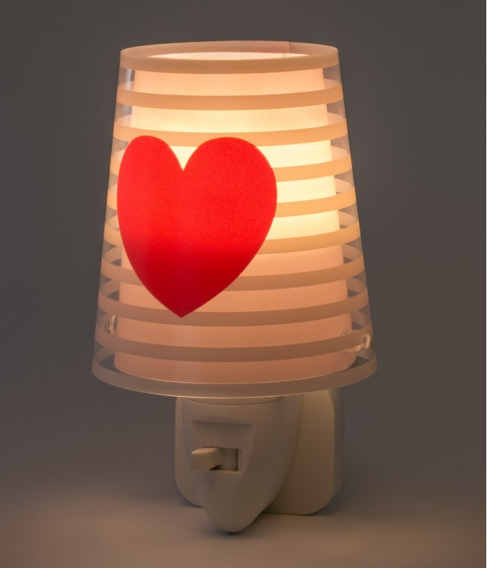 Veilleuse LED pour enfants Light Feeling rose