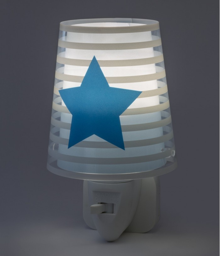 Children LED night light Light Feeling blue