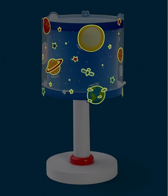 Lampada da comodino per bambini Planets