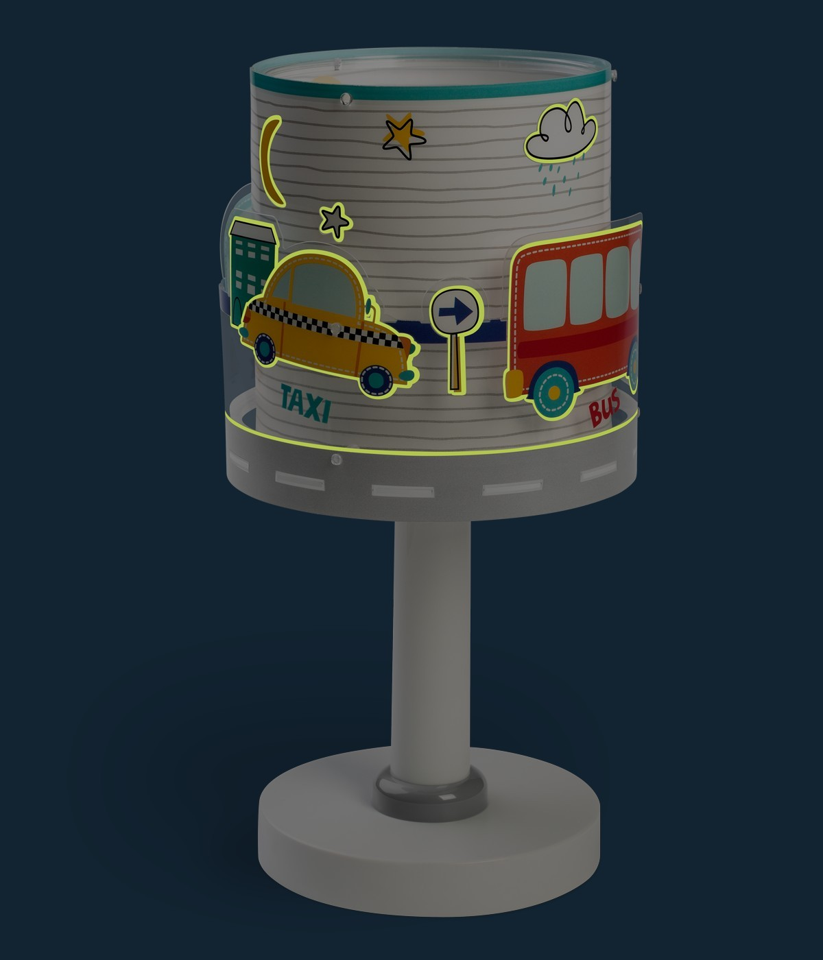 Lámpara infantil de mesita Baby Travel