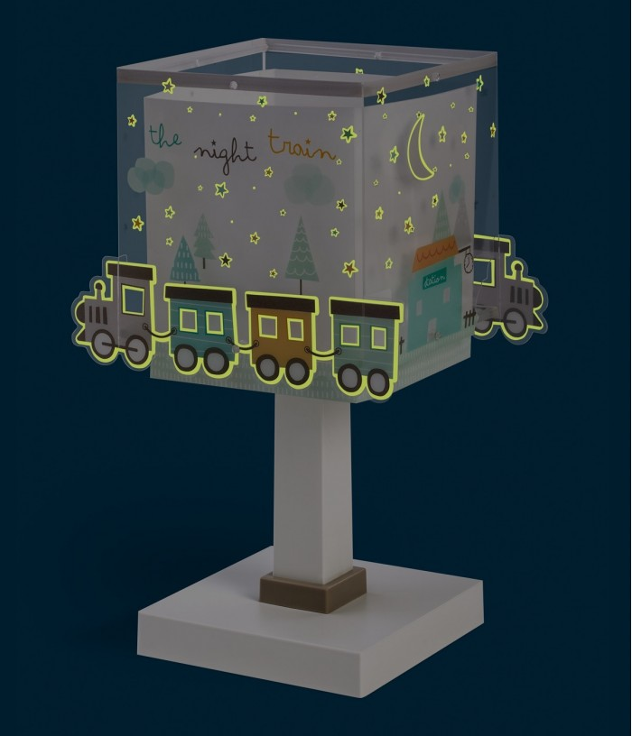Table lamp for Kids The Night Train