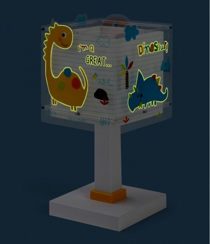 Children table lamp Dinos
