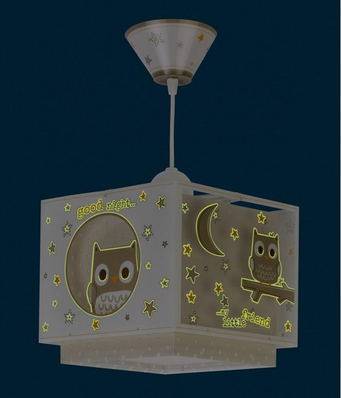 Candeeiro infantil de tecto Good Night