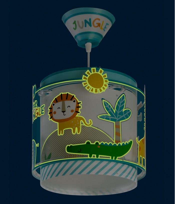Candeeiro infantil de tecto My Little Jungle