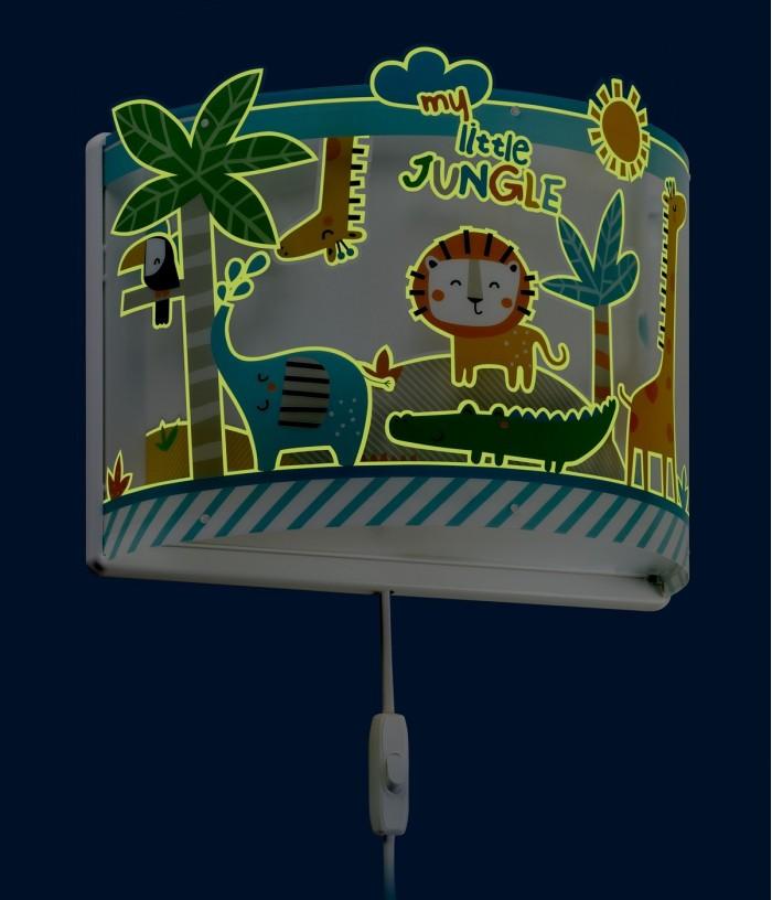 Applique per bambini Little Jungle