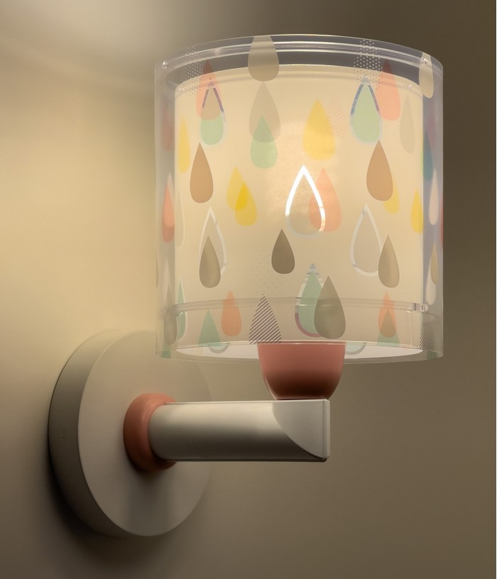 Aplique infantil de pared Color Rain