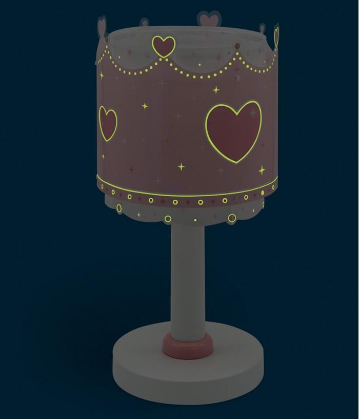 Children table lamp Little Queen