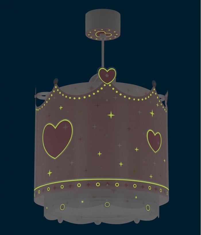 Children hanging lamp Little Queen