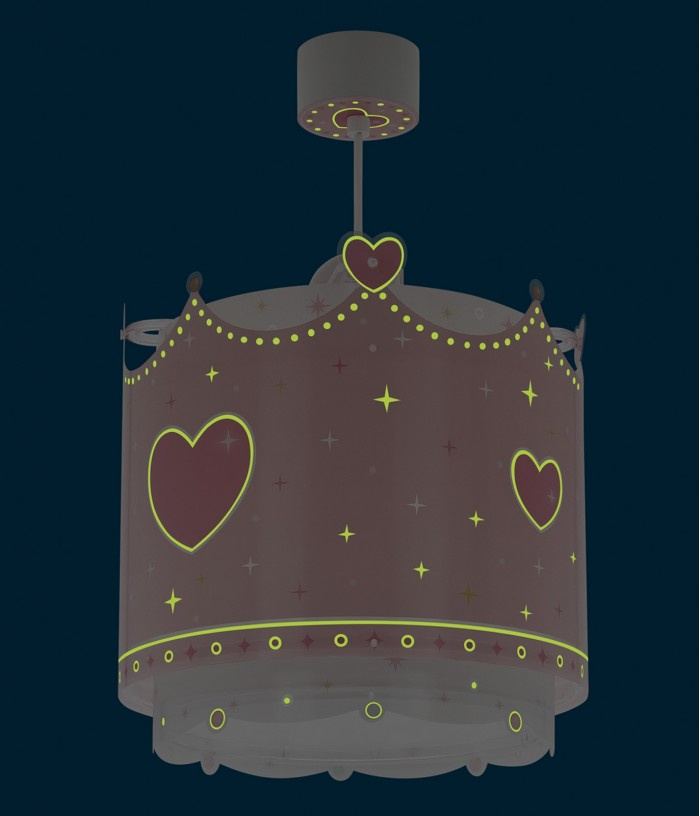 Lámpara infantil de techo Little Queen