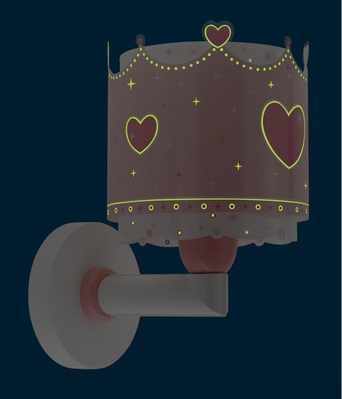 Children wall lamp Little Queen