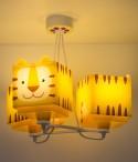 Lampadario per bambini 3 luci Little Tiger