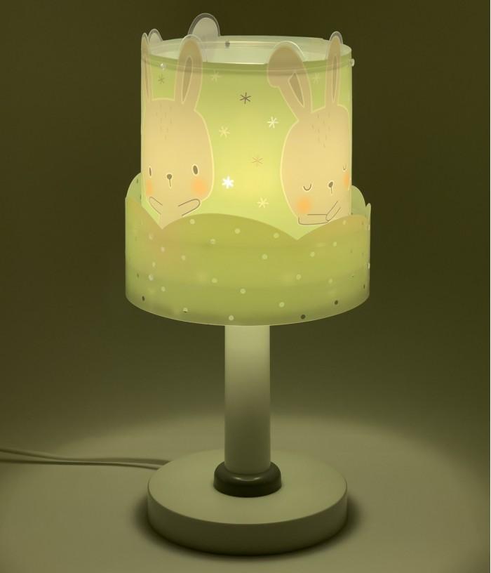 Lámpara infantil de mesa Baby Bunny Verde