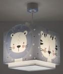 Children hanging lamp Baby Jungle blue