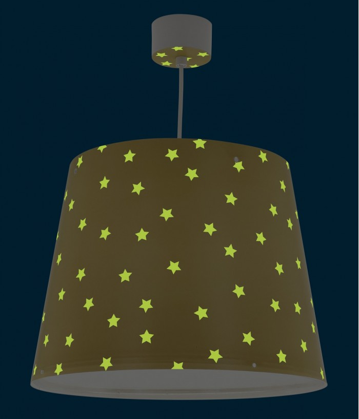 Lampada a sospensione per bambini Star Light giallo