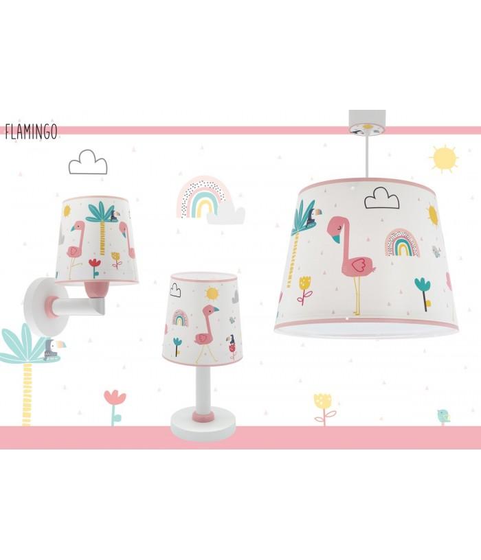 Children wall lamp Flamingo