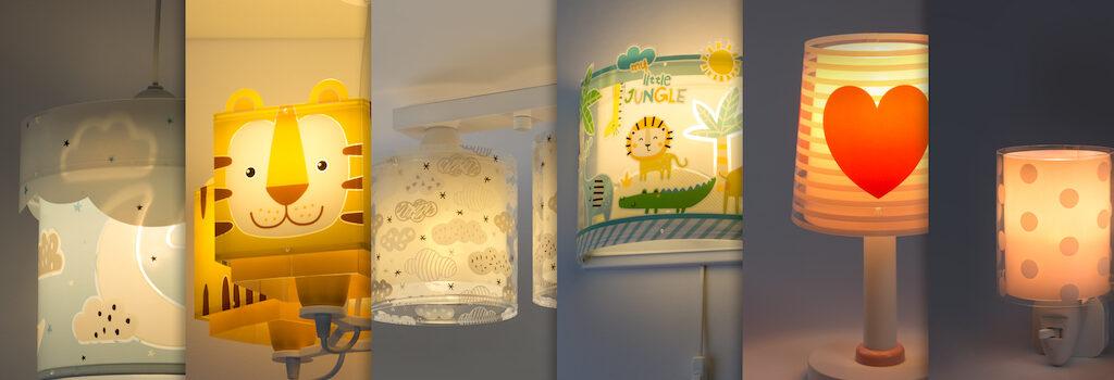 lâmpadas infantis Dalber