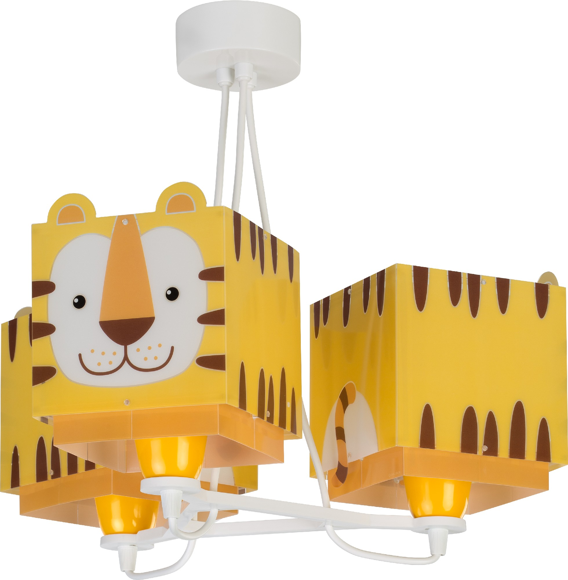comprar lámparas infantiles de techo tres luces