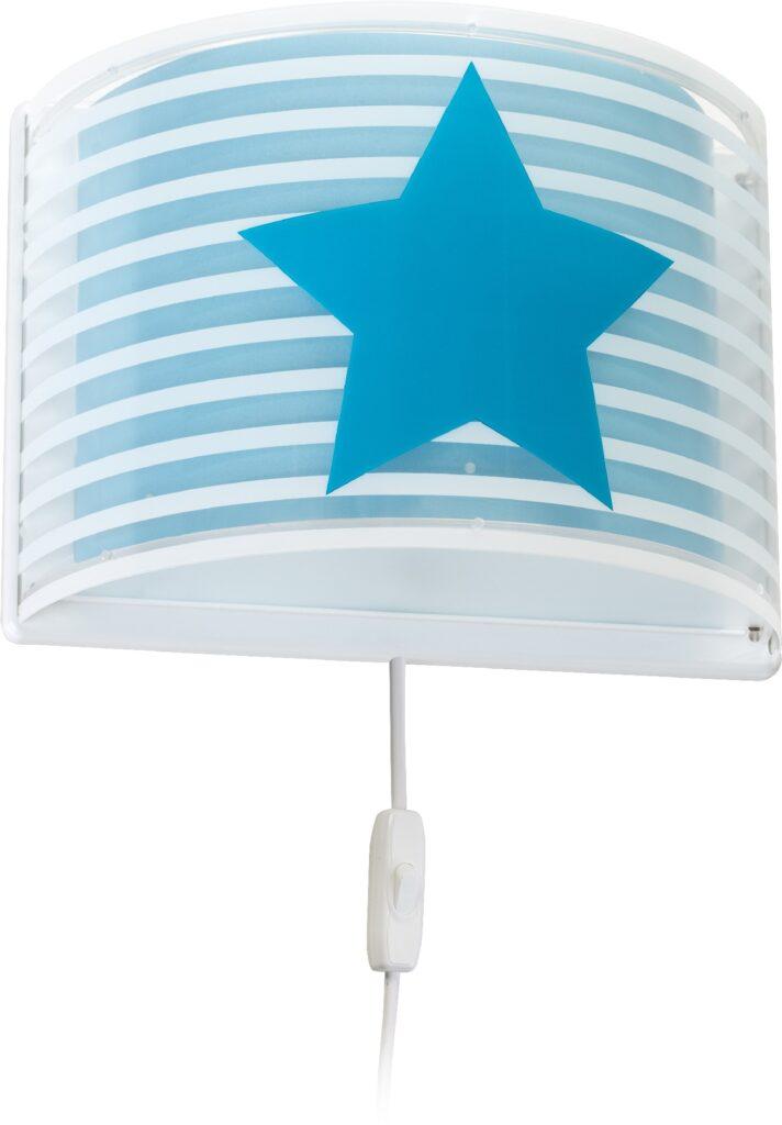 applique murale enfant étoile bleue