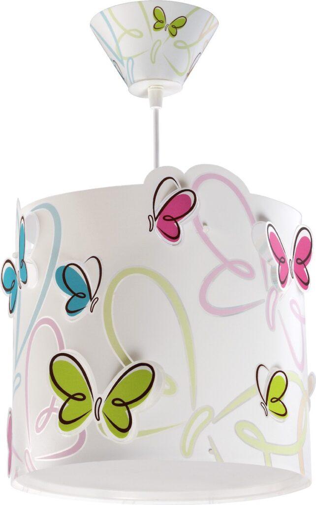lampade sospensione bambini farfalla