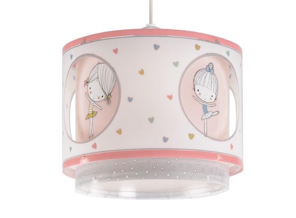 Lámparas infantiles para niñas con bailarinas de ballet