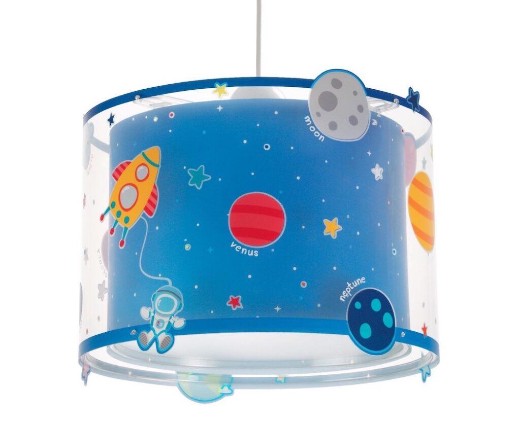 Lampade per bambini con pianeti del Sistema Solare