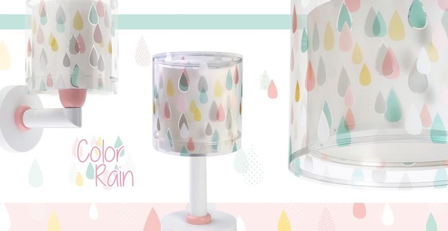 Lâmpadas infantil para Crianças Color Rain | DALBER