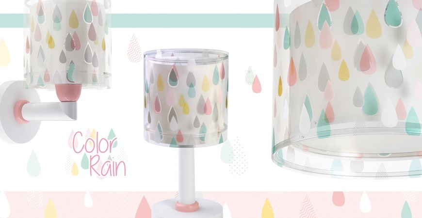 Lámparas infantiles Color Rain | DALBER