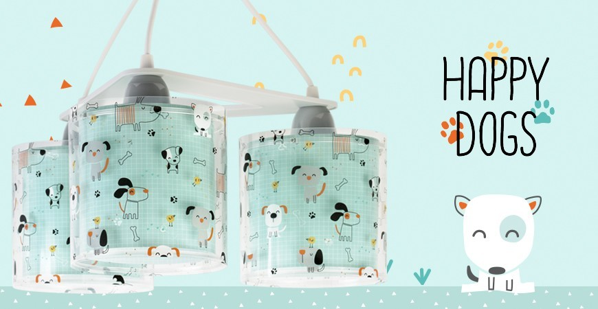 Happy Dogs Children's Lamps - Buy yours now! | DALBER.com