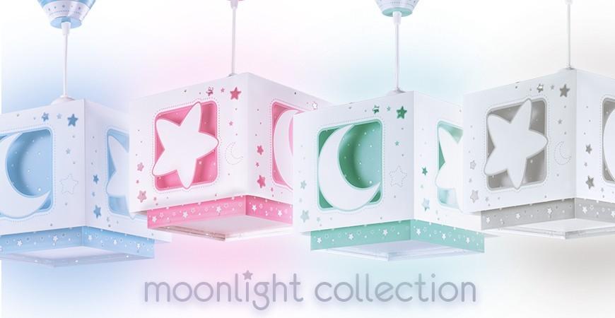 Lampes enfants avec des lunes et des étoiles Moonlight | DALBER