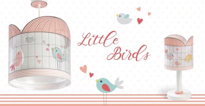 Lámparas Infantiles con pajaritos colección Little Birds | DALBER