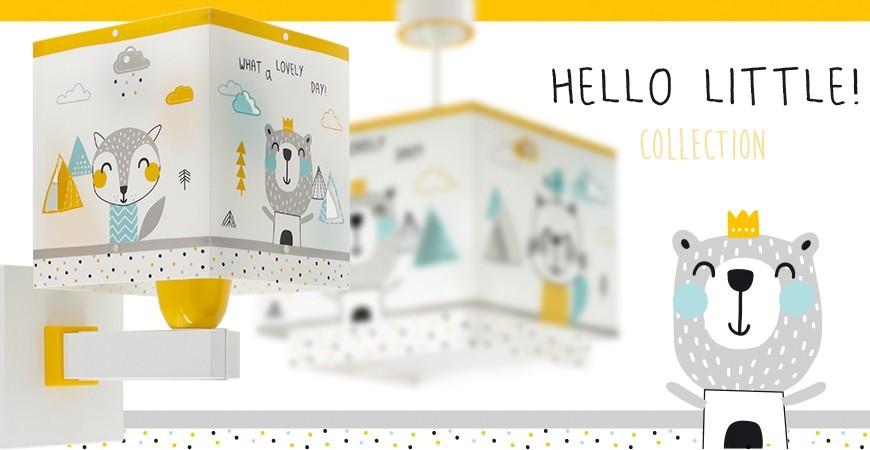 Lámparas Infantiles con animalitos del bosque Hello Little | DALBER