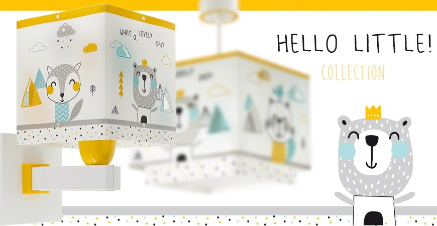Lámparas Infantiles colección Hello Little | DALBER