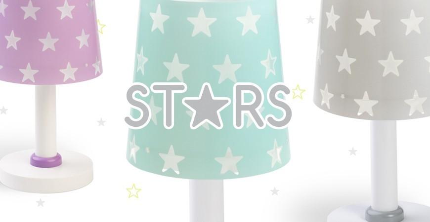Candeeiros infantis com estrelas coleção Stars | DALBER