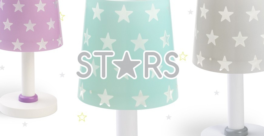 Lámpara Infantil con estrellas colección Stars   DALBER