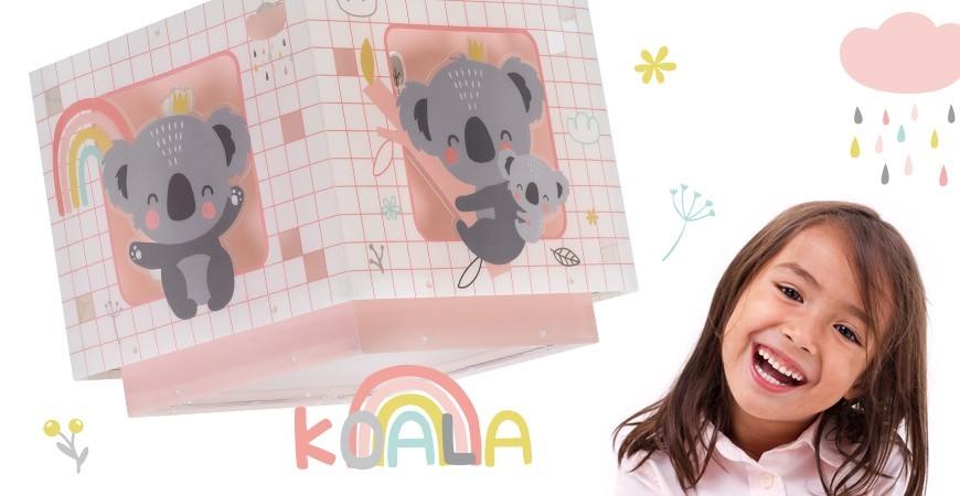 Lampadario per bambini con un simpatico Koala | DALBER