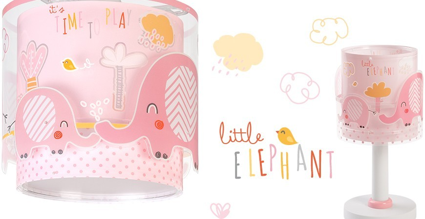 Lampes enfants avec elephant Little Elephant | DALBER