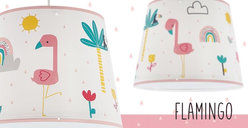 Nova coleção de candeeiros infantis Flamingo   DALBER