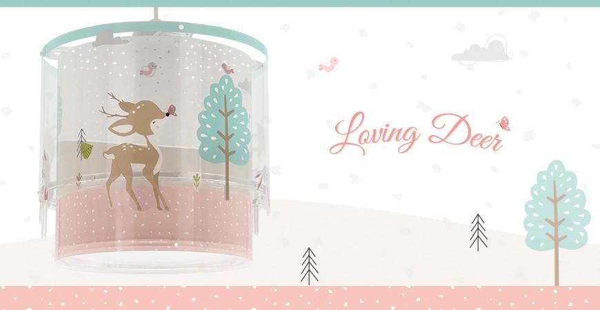 Nova coleção de candeeiros infantis Loving Deer | DALBER