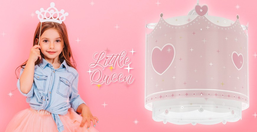 New collection of children's lamps Little Queen | DALBER