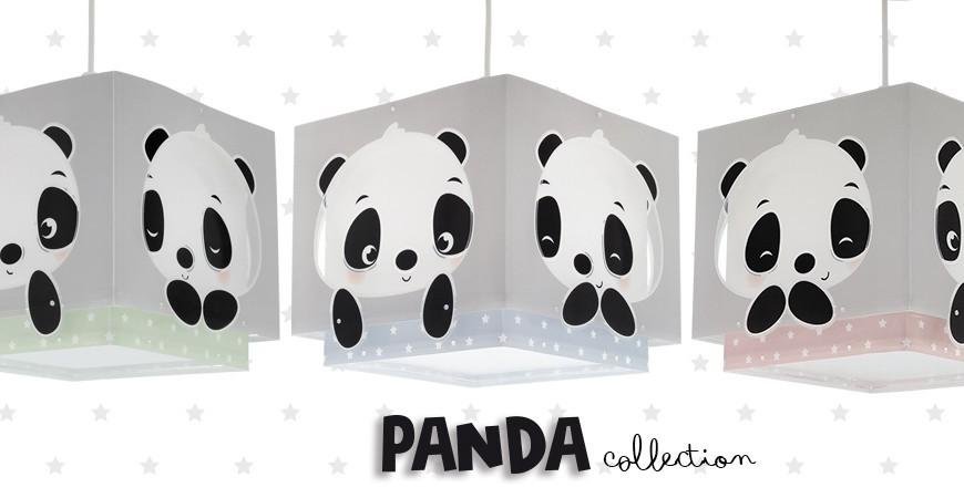 Nova coleção de candeeiros infantis Panda   DALBER