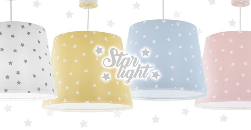 Nova coleção de candeeiros infantis Star Light   DALBER