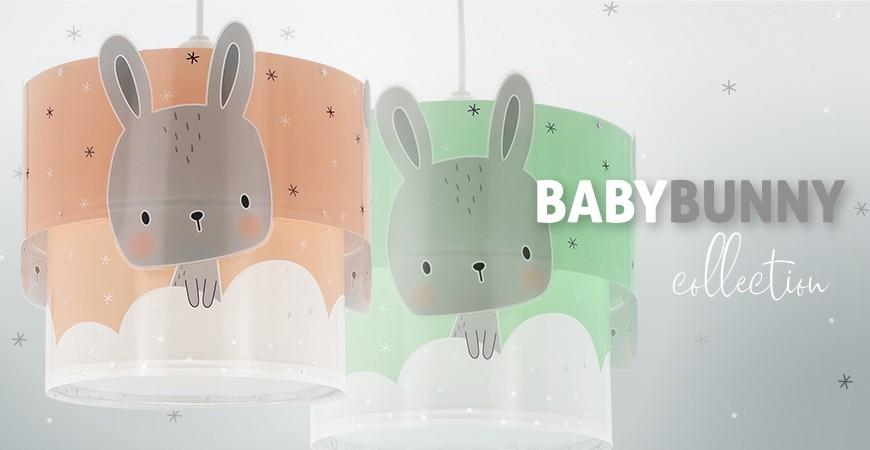 Candeeiros infantis coleção Baby Bunny | DALBER